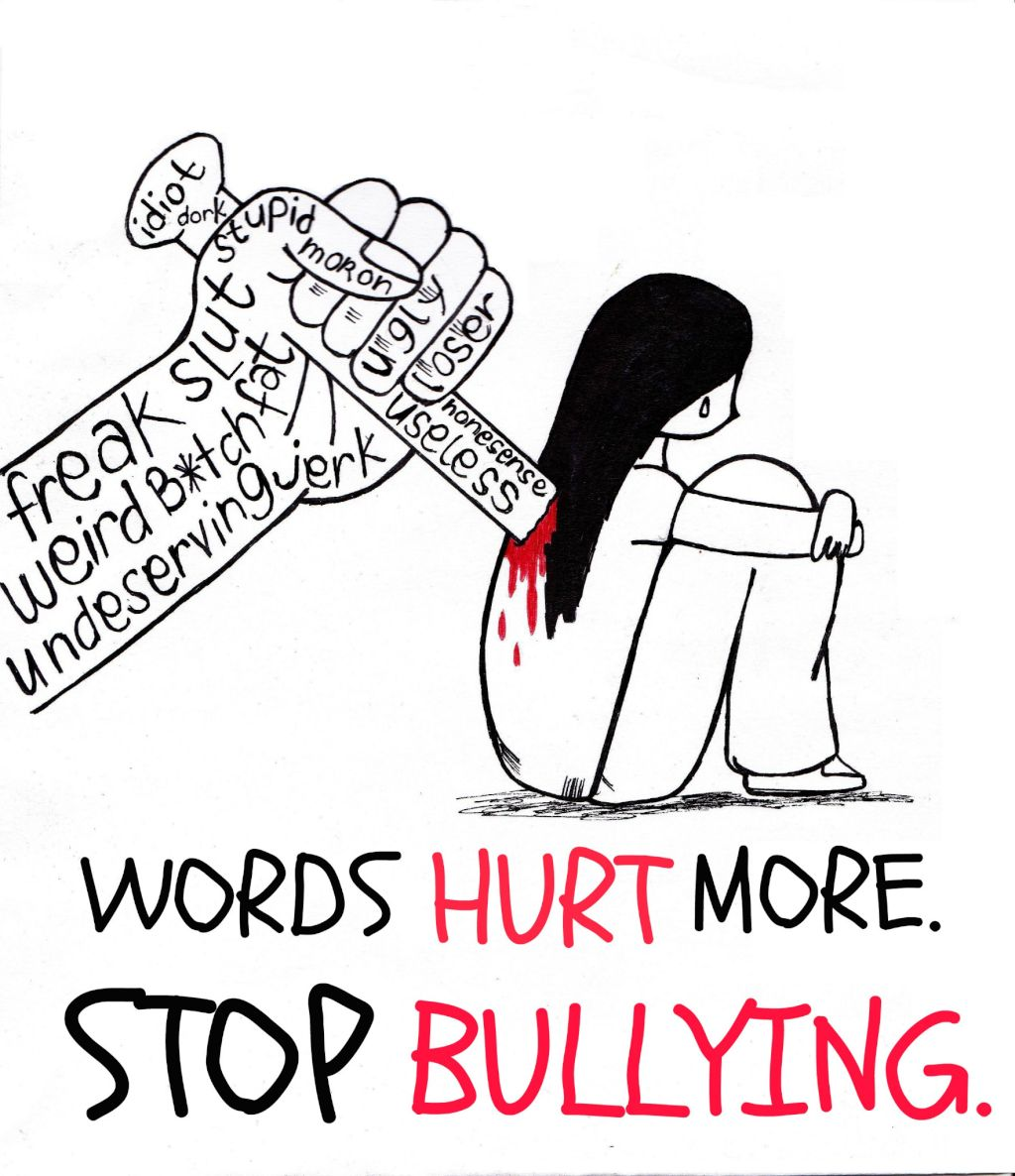 what is bullying A definition of bullying there is no legal definition of bullying but it is usually defined as repeated behaviour which is intended to hurt someone either emotionally or physically, and is often aimed at certain people because of their race, religion, gender or sexual orientation or any other aspect such as appearance or disability.